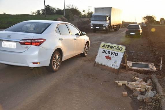ERS-591 entre Ametista do Sul e FW estará bloqueada nesta quinta-feira, 1º