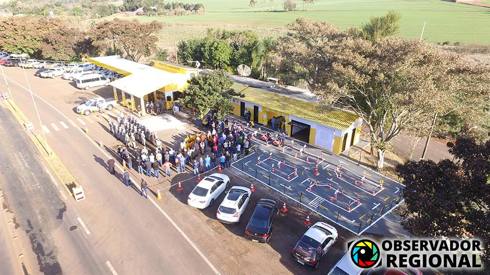 3° Pelotão Rodoviário de Santo Augusto inaugura Escolinha de Trânsito