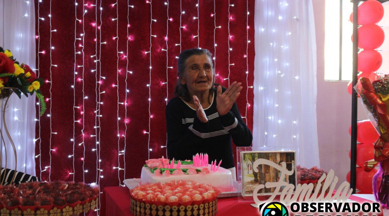Dona Natália, uma das Pioneiras de Braga, comemora 98 anos