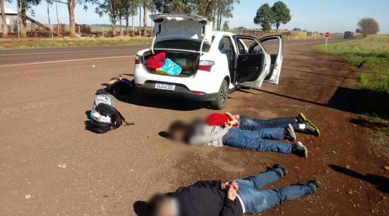 Brigada Militar prende quatro assaltantes em Ronda Alta