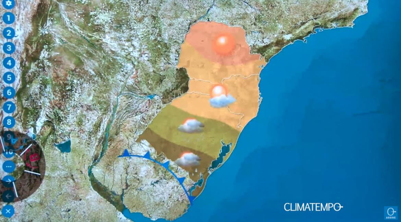Previsão do Tempo: Aproximação de Frente Fria pode trazer chuva para a região