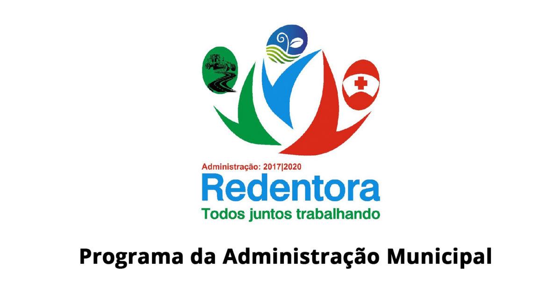 Confira Áudio: Informativo da Administração Municipal de Redentora em 10.08.19