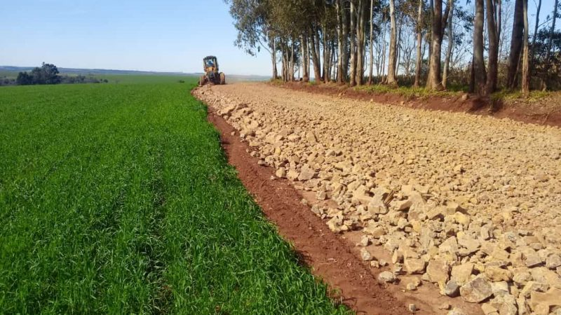 Chiapetta: Secretaria de Obras conclui recuperação de estrada na localidade de Nova Conquista
