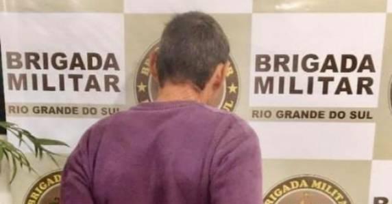 Homem é preso após importunar crianças na praça em São Luiz Gonzaga