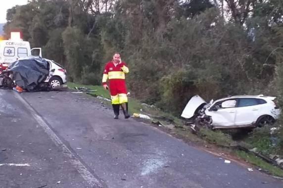 Vítimas de acidente na BR-386 são da mesma família, incluindo criança de seis anos
