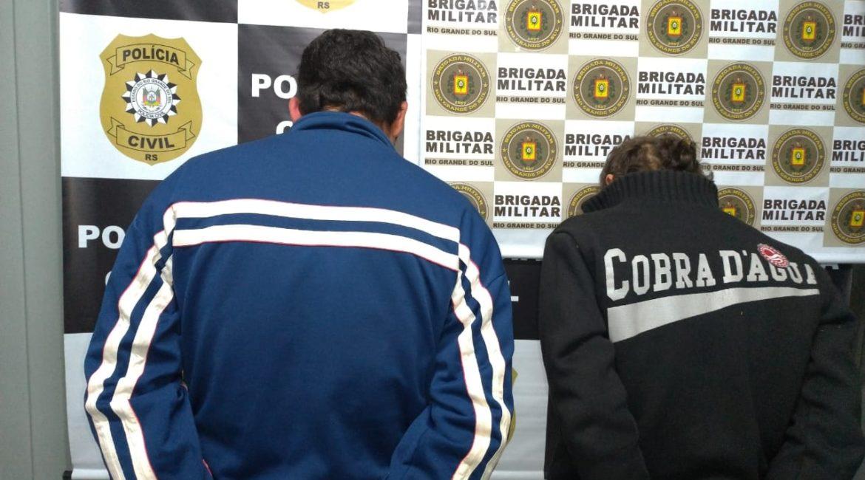 Horizontina: Duas pessoas são presas com quase 5kg de maconha