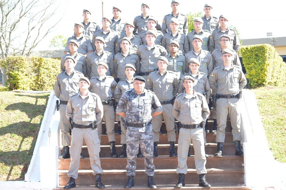 7° BPM recebe reforço policial