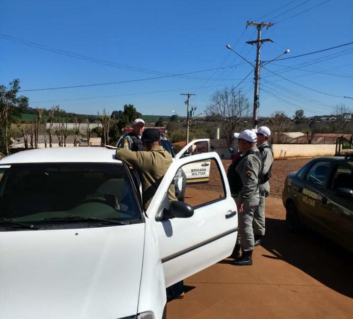 Braga – Brigada Militar prende condutor por embriaguez ao volante