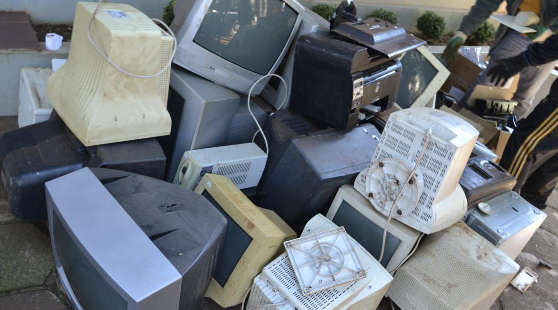 Chiapetta: Campanha arrecadou lixo eletrônico