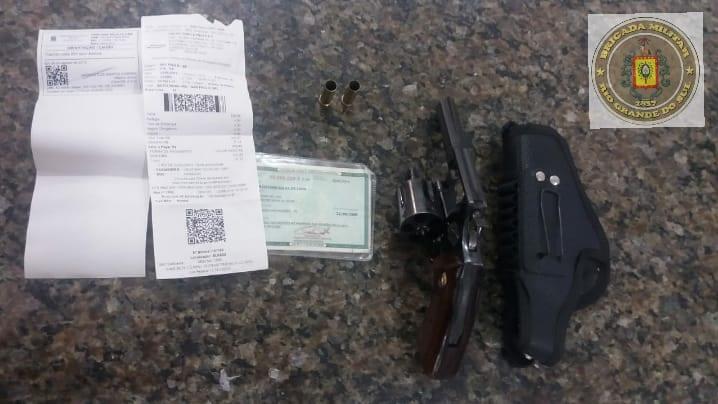Homem é preso por posse irregular de arma de fogo em Ijuí