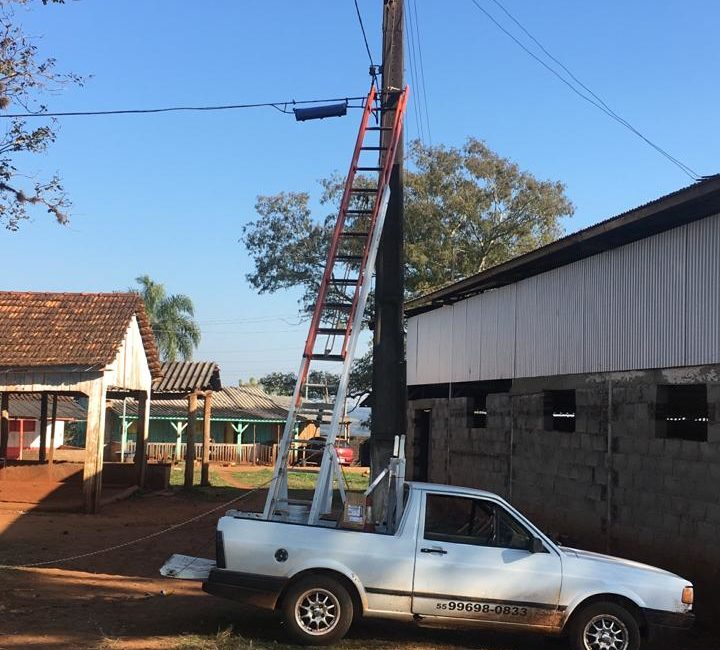 Redentora: Administração Municipal faz manutenção da iluminação pública no Setor Missão