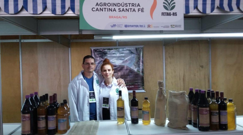 Braga: Agroindústria de Vinhos Cantina Santa Fé presente na Expointer 2019
