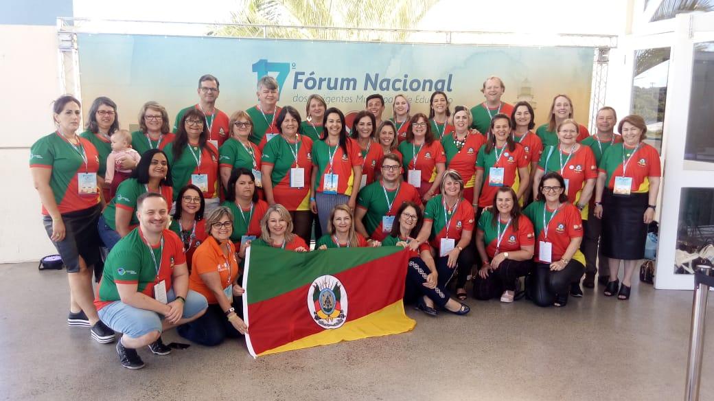 Miraguaí marcou presença no 17º Fórum Nacional da Educação, na Bahia