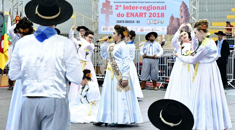 Dez regiões tradicionalistas disputarão a Inter-Regional do ENART em Santo Ângelo