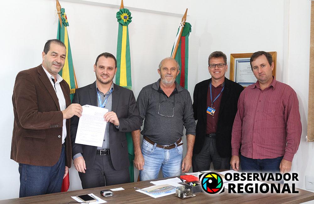Braga: Prefeito recebe representantes da Caixa Econômica Federal