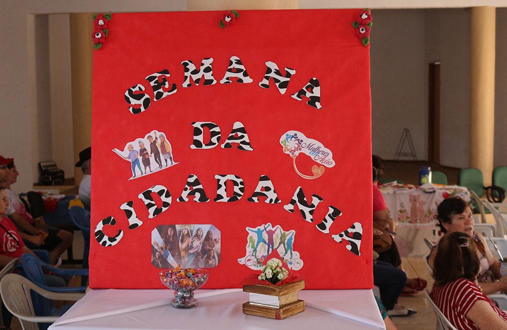 Braga: Semana da Cidadania iniciou com comemoração ao Dia do Idoso