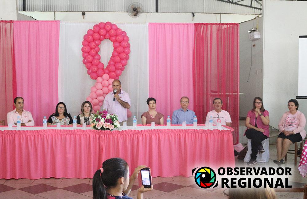 Coronel Bicaco: Evento comemorativo ao Outubro Rosa foi um sucesso