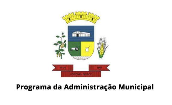 Confira Áudio: Informativo da Administração Municipal de Coronel Bicaco em 08/08/2020