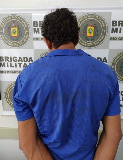 Brigada Militar prende procurado da justiça em Crissiumal