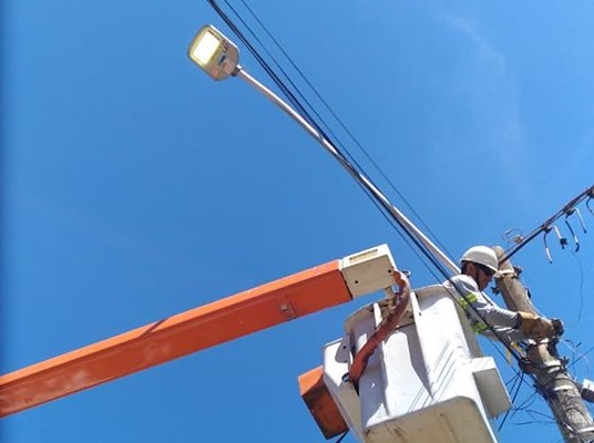 Iniciada a segunda etapa de substituição de luminárias LED, através do programa Procel/Reluz da Eletrobras