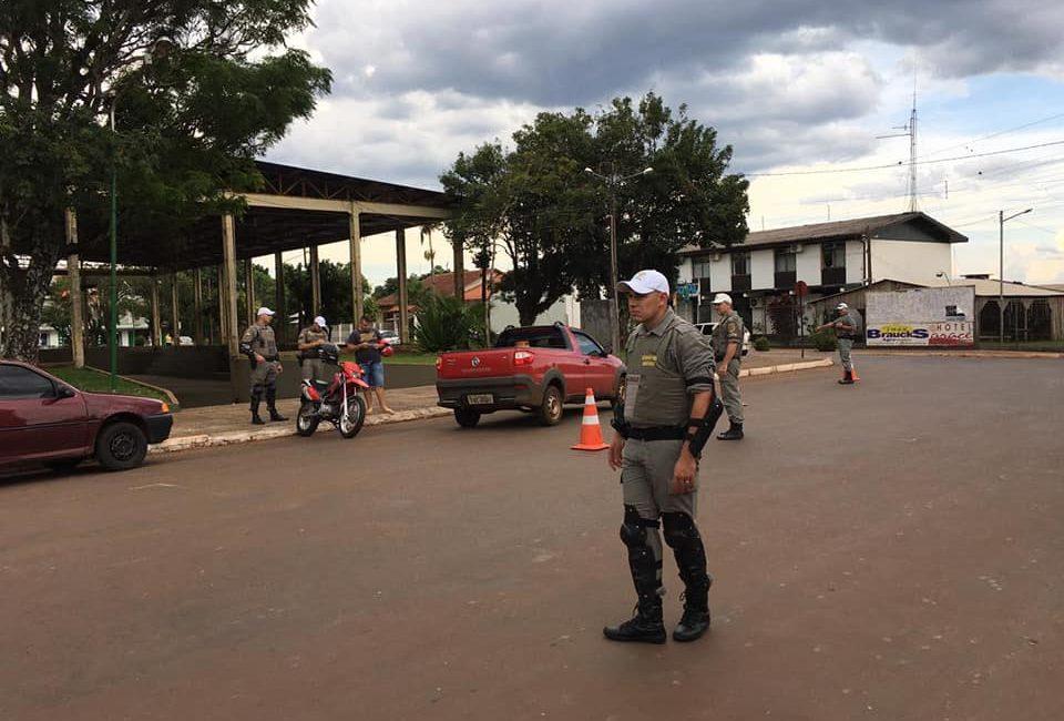 Ações da Operação Avante ocorreram nos municípios de Tenente Portela e Tiradentes do Sul