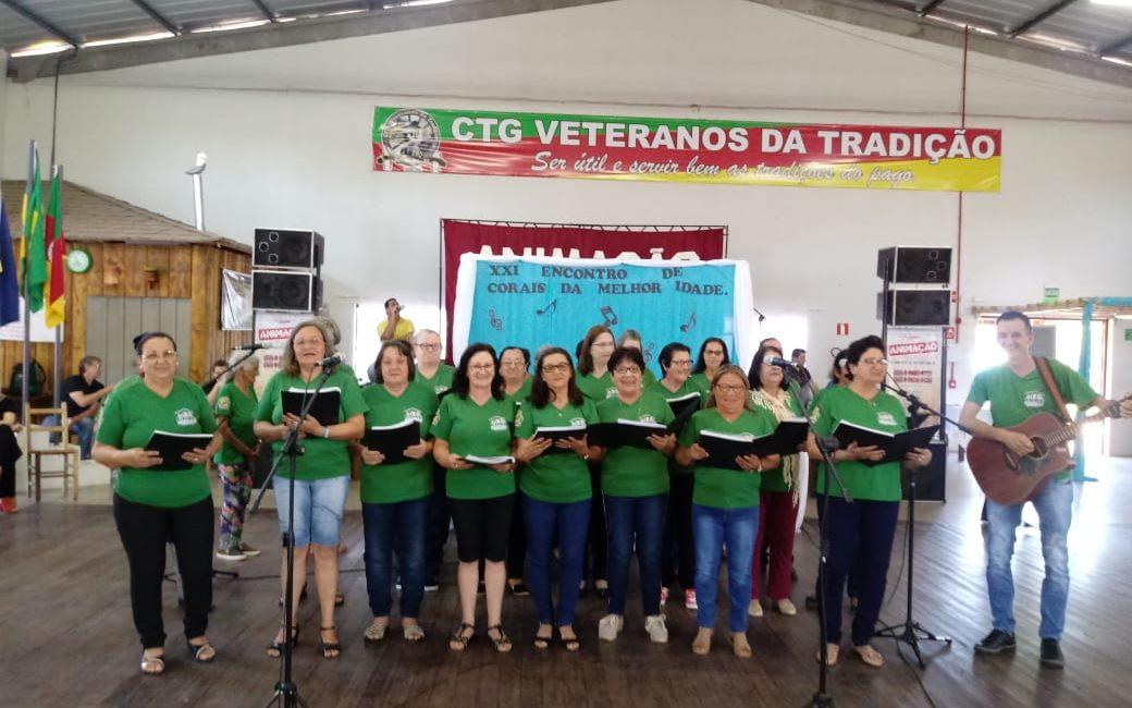 Campo Novo: Grupo Conviver participa de Encontro de Corais da Melhor Idade