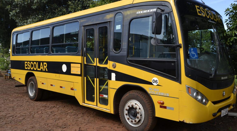 Chiapetta: Aberto o período de inscrição e recadastramento para o Transporte Escolar