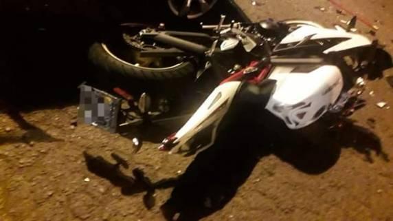Acidente deixa um jovem morto e outro ferido em Cruz Alta