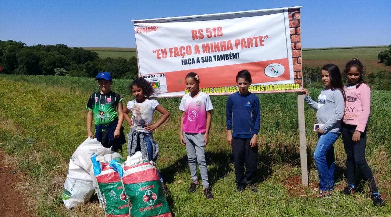 Braga: E.M.E.F. Adelarmo Nunes desenvolve projeto de conscientização