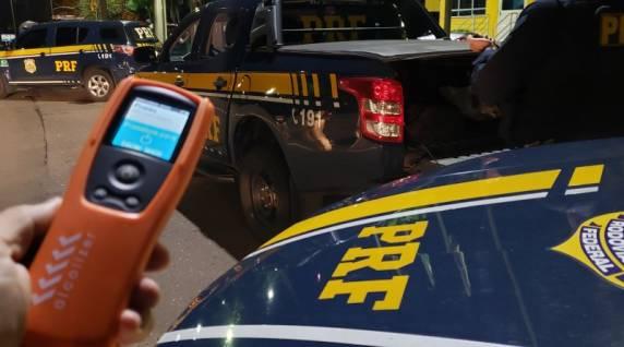 PRF autua mais de 100 motoristas em ação coordenada de combate à embriaguez ao volante no Rio Grande do Sul
