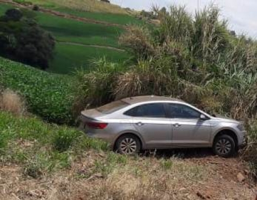 Saída de pista foi registrada na estrada que liga Crissiumal a Tiradentes do Sul