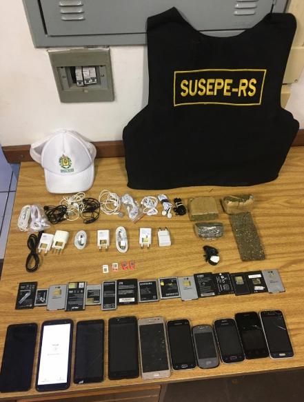 Arremesso de celulares e drogas é interceptado no Presídio de Santa Rosa