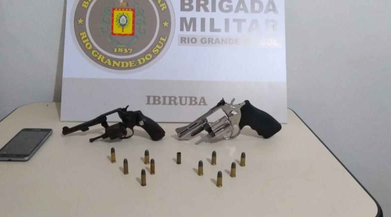 Homem é preso por porte ilegal de arma em Ibirubá