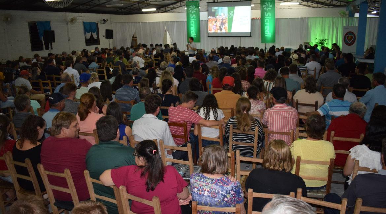 Sicredi Celeiro RS/SC realiza assembleia para divulgação dos resultados de 2019 em Miraguaí