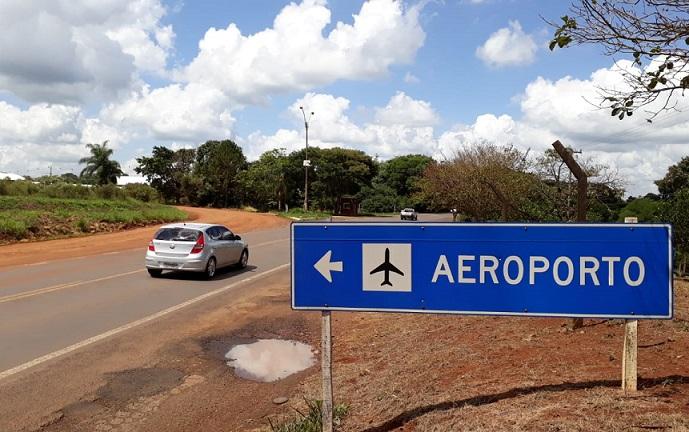 Aeroporto de Ijuí receberá voos noturnos, mas acesso contínua precário