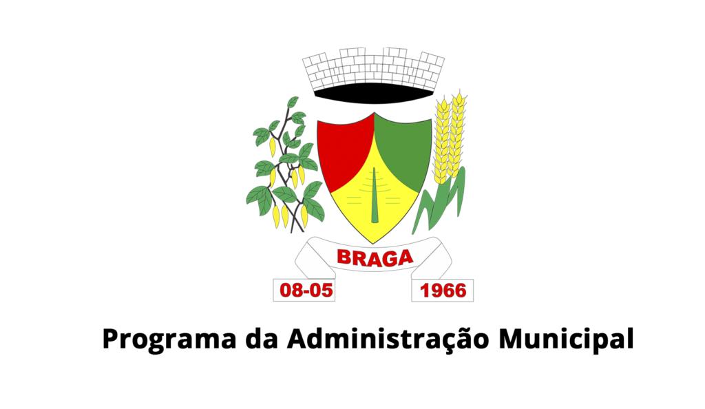 Confira Áudio: Informativo da Administração Municipal de Braga em 08/08/2020