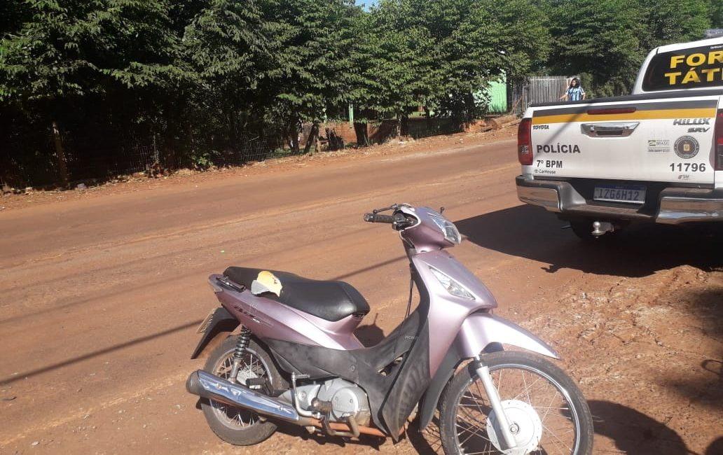 Miraguaí: Acidente envolvendo motocicleta e veículo deixa uma pessoa ferida  na ERS 330
