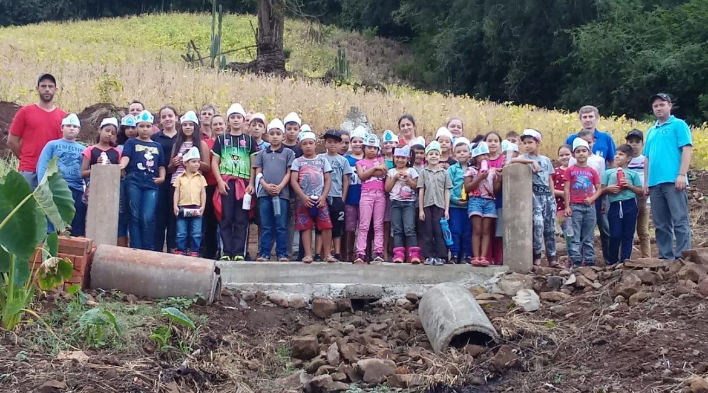 Braga: Escola Adelarmo Nunes desenvolve atividades de conservação e conscientização ao uso racional da água