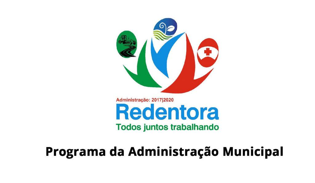 Confira Áudio: Informativo da Administração Municipal de Redentora em 01/08/2020