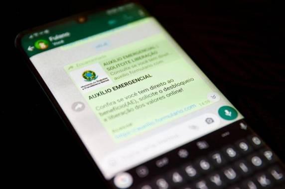 Alerta: Golpistas usam auxílio emergencial para tentar obter dados sigilosos de vítimas