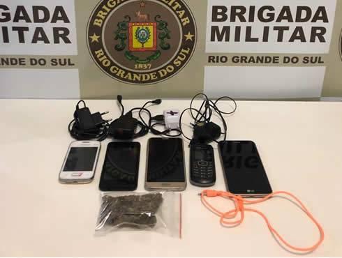 Arremesso de celulares e droga no Presídio de São Luiz Gonzaga é evitado pela Brigada Militar