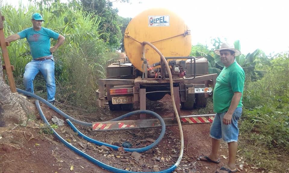 Redentora: Administração Municipal mantém suporte no abastecimento de água
