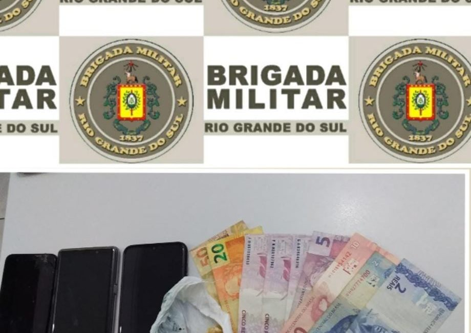 Três Passos: Dois indivíduos são presos por Tráfico de Drogas