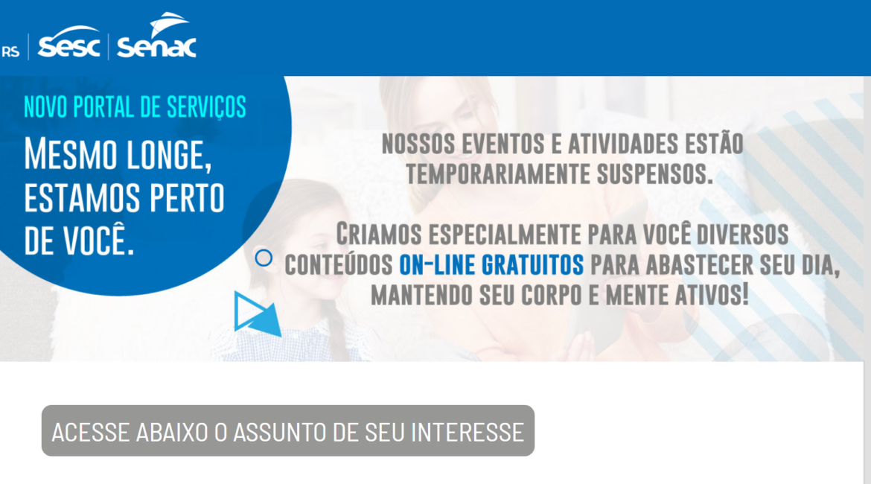 Sistema Fecomércio do RS oferece cursos e serviços online; confira como participar
