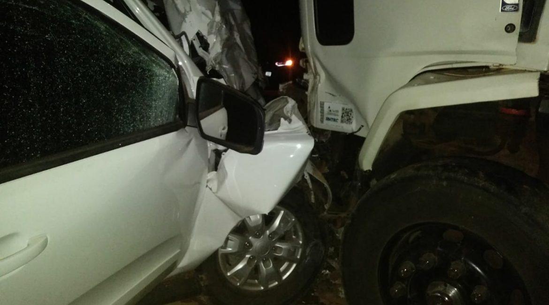 Acidente na BR 468, em Tiradentes do Sul, deixa ocupantes de veículos com ferimentos leves