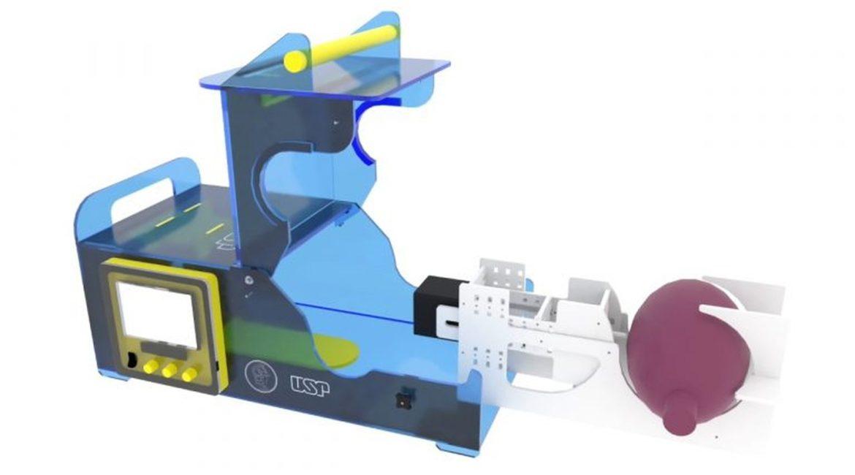 Respirador criado na USP é aprovado em testes com humanos; aparelho é feito em 2 horas e 15 vezes mais barato