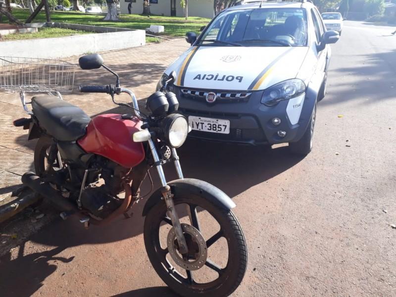 7º BPM recupera motocicleta furtada em Operação Avante
