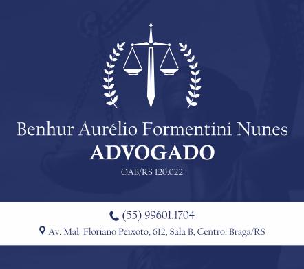 Advogado Benhur Aurélio Formentini Nunes