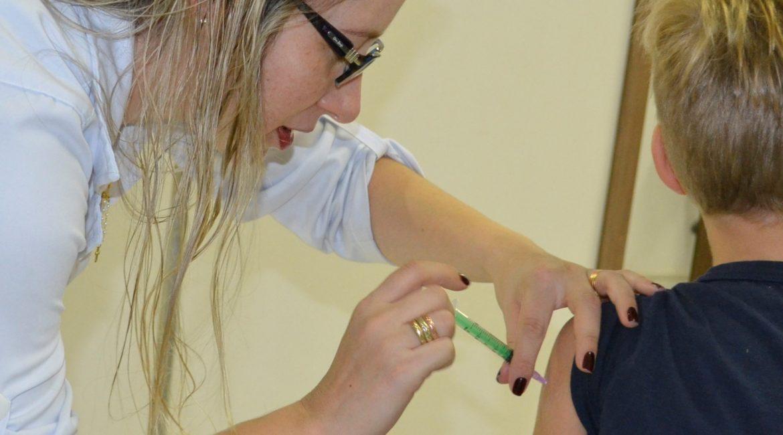Chiapetta: Município atinge meta de vacinação entre as crianças de seis meses a menores de seis anos