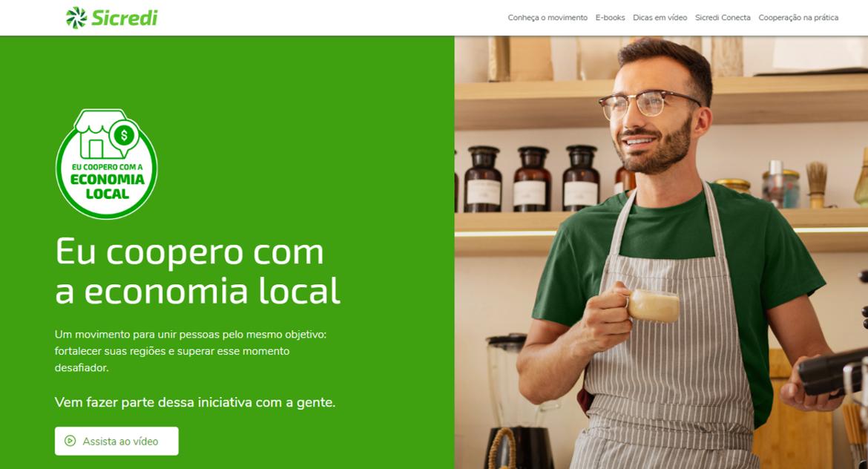 Sicredi lança hotsite que ajuda empreendedores a impulsionarem seus negócios